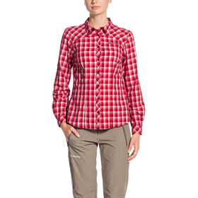 VAUDE Tacun LS Shirt Damen red cluster